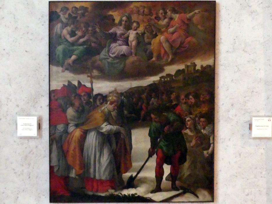 Alessandro Turchi (L'Orbetto): Gründung von Santa Maria Maggiore, Undatiert