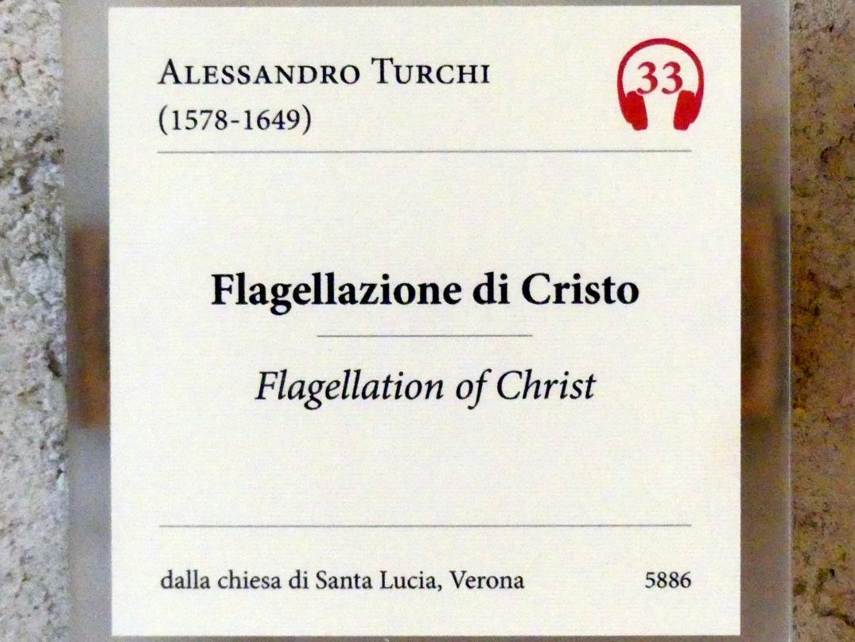 Alessandro Turchi (L'Orbetto): Geißelung Christi, Undatiert, Bild 2/2