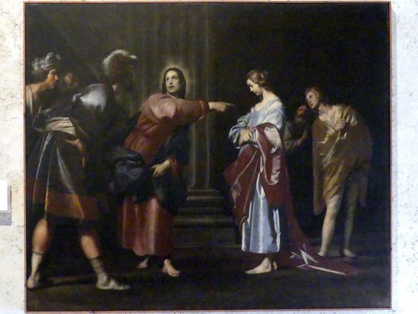 Giovanni Antonio Galli (Lo Spadarino): Christus und die Ehebrecherin, Undatiert