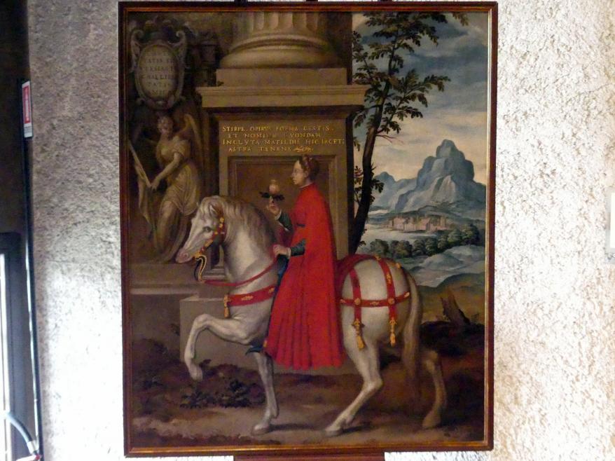 Paolo Farinato (Paolo Farinati): Allegorisches Porträt von Matilde von Canossa, Undatiert