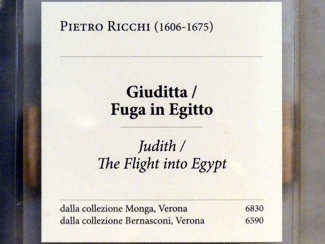 Pietro Ricchi: Flucht nach Ägypten, Undatiert