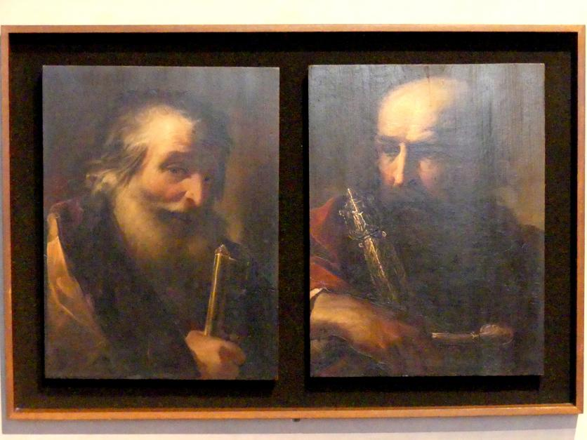 Pietro Ricchi: Heiliger Petrus / Heiliger Paulus, Undatiert