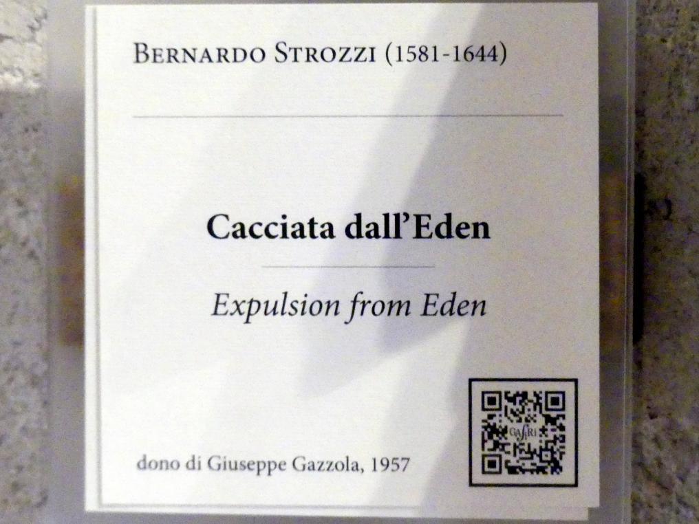 Bernardo Strozzi: Vertreibung aus dem Paradies, Undatiert, Bild 2/2