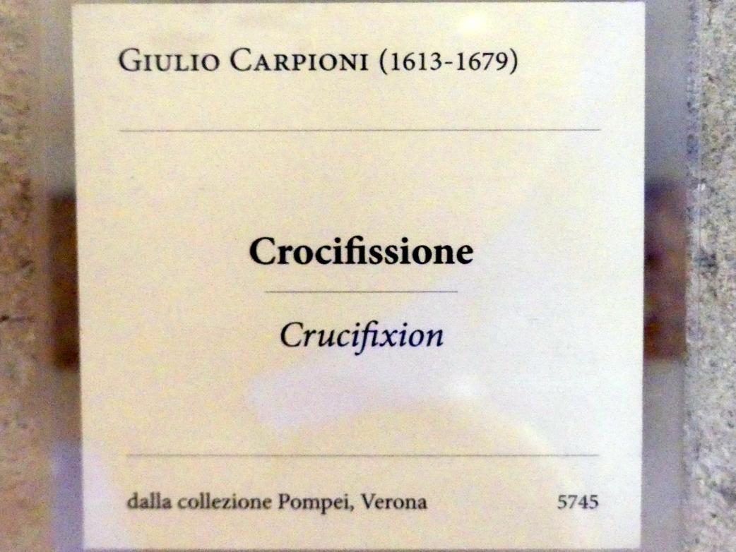 Giulio Carpioni: Kreuzigung, Undatiert, Bild 2/2