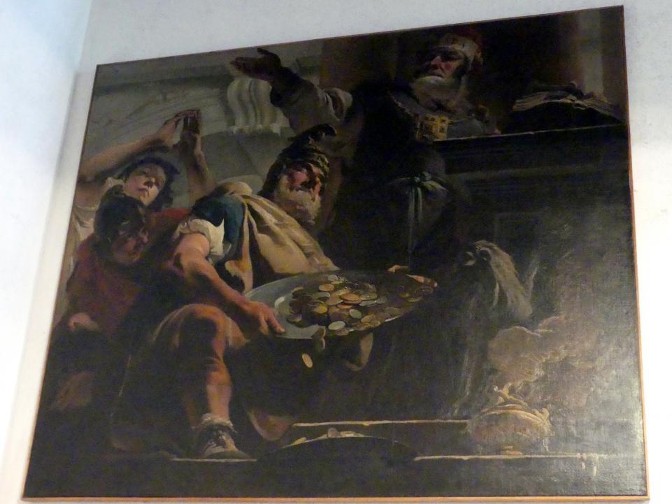 Giovanni Battista Tiepolo: Episode aus der Geschichte der Makkabäer, 1724 - 1725