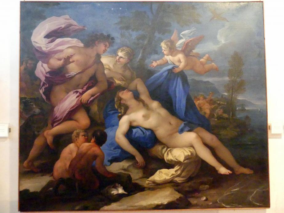 Luca Giordano: Bacchus und Ariadne, Undatiert