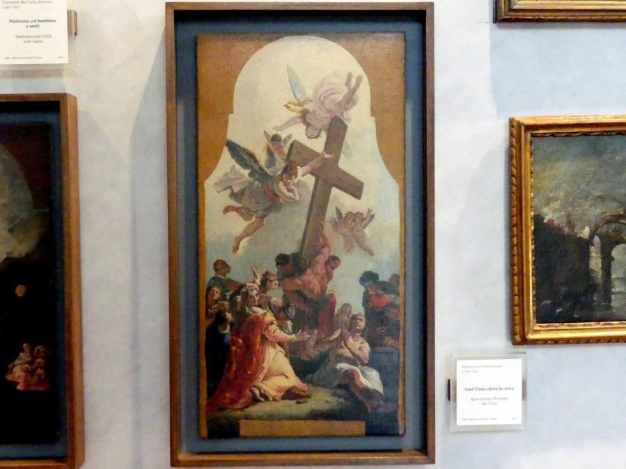 Francesco Fontebasso: Kreuzanbetung der Heiligen Helena, Undatiert