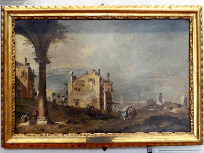 Francesco Guardi: Capriccio, Undatiert