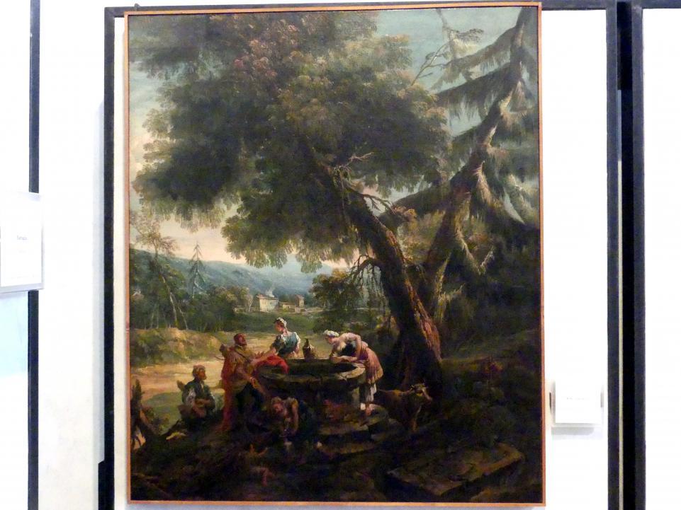 Antonio Diziani: Rebekka am Brunnen, Undatiert