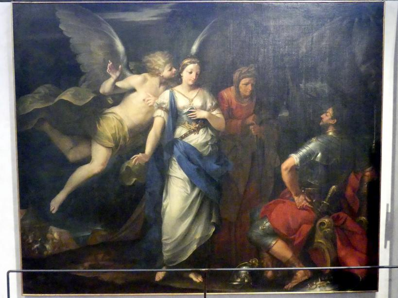 Giovan Gioseffo Dal Sole: Der Engel inspiriert Judith, 1697