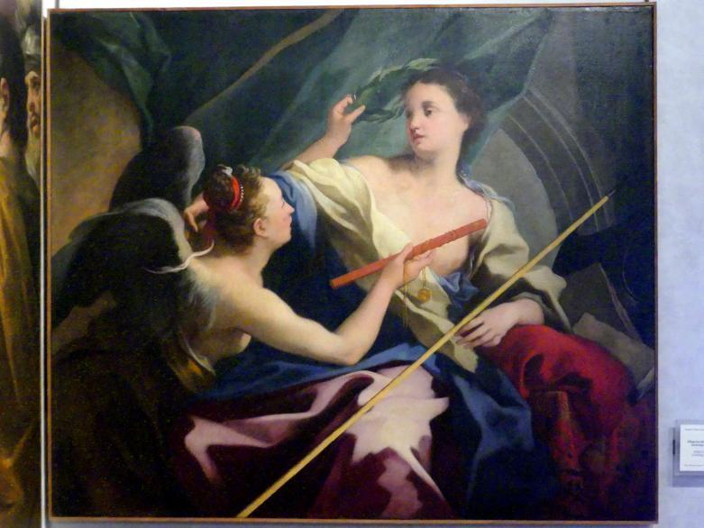 Simone Brentana: Allegorie auf den Ruhm der Krönung der Meriten, Undatiert