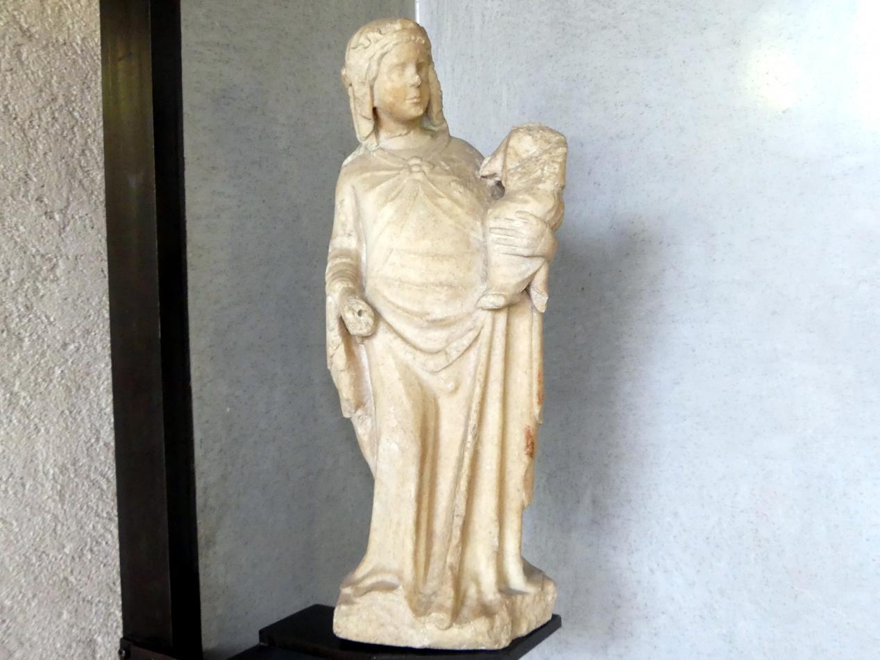 Maria mit Kind, 14. Jhd.