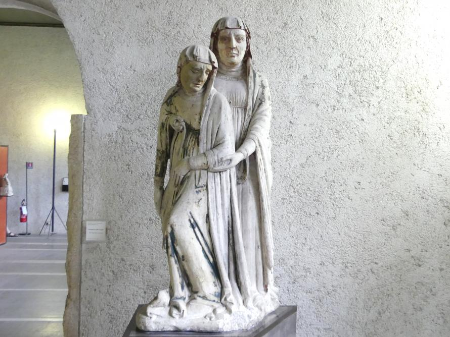 Maestro di Sant'Anastasia: Ohnmacht der Jungfrau Maria, 1. Hälfte 14. Jhd.