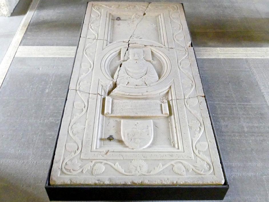 Grabplatte des Dinadato Spinelli, 14. Jhd.
