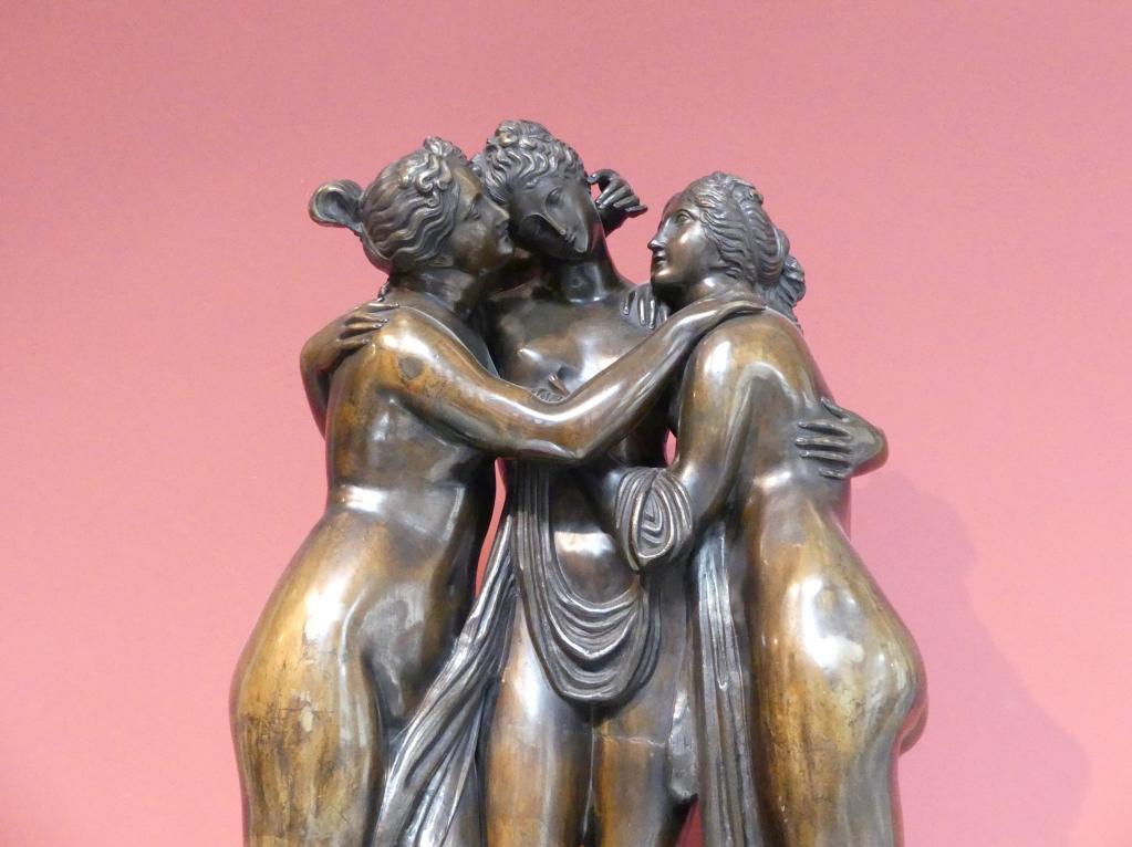 Antonio Canova (Nachfolger): Drei Grazien, 1. Hälfte 19. Jhd., Bild 2/3