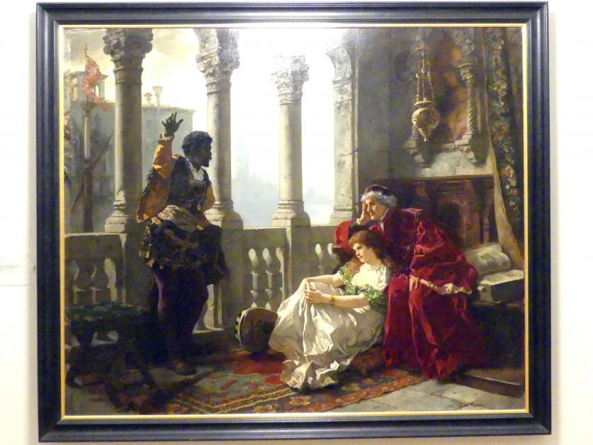 Karl Becker: Othello erzählt die Geschichten seiner Abenteuer, 1880