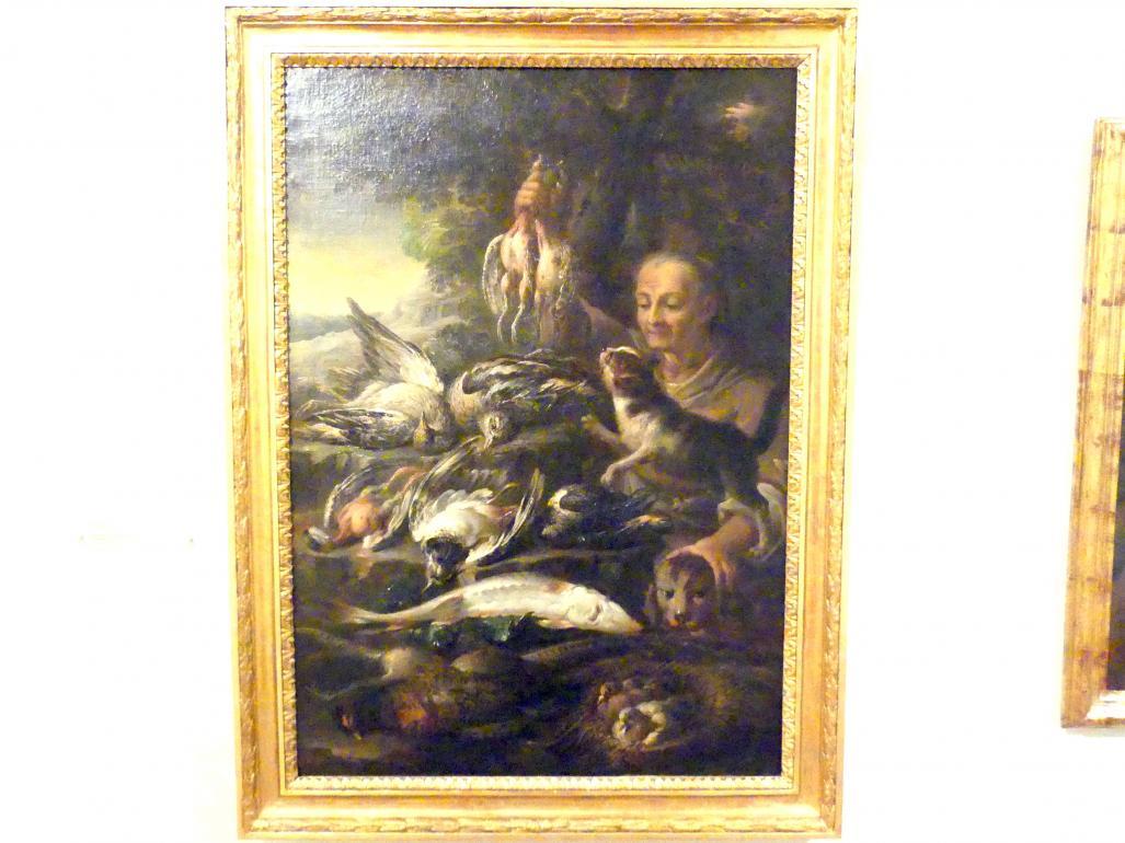Felice Boselli: Haushälterin mit toten Vögeln, 1720 - 1730