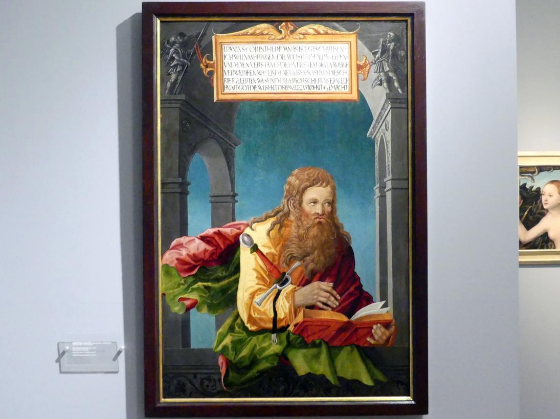 Ambrosius Holbein (Werkstatt): Heiliger Apostel Paulus, um 1522