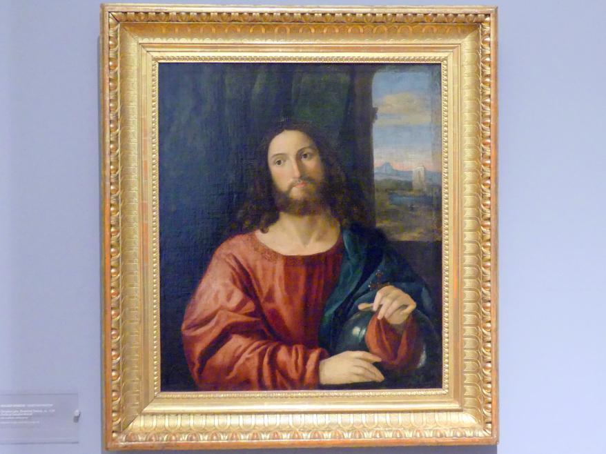 Christus als Salvator Mundi, um 1520
