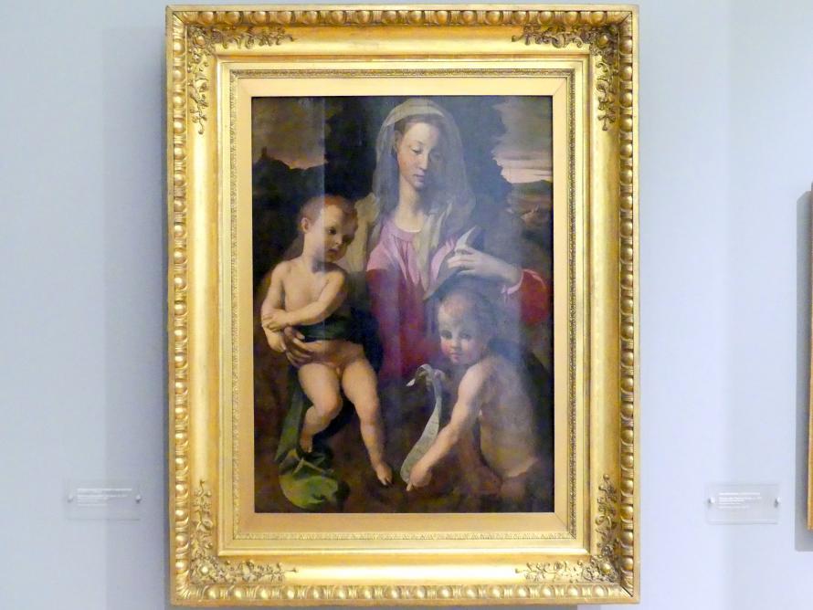 Agnolo di Cosimo di Mariano (Bronzino): Maria mit Kind und dem Johannesknaben, Um 1530