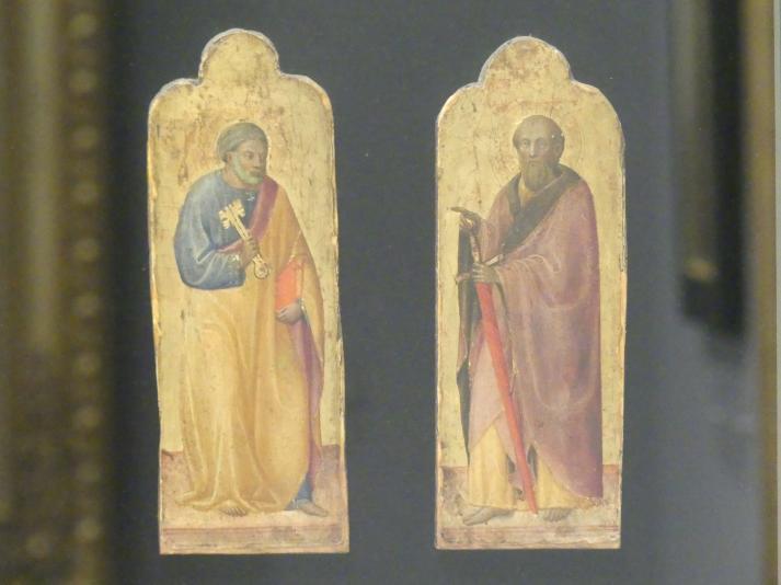 Paolo Schiavo: Die heiligen Petrus und Paulus, 1430 - 1440