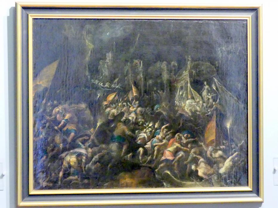 Gillis van Valckenborch: Entführung der Helena, um 1600