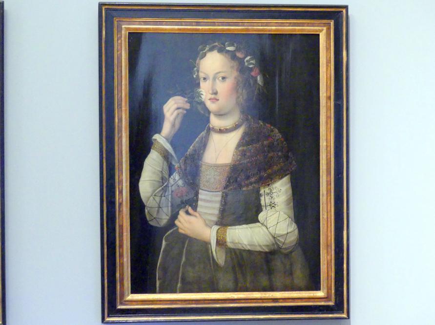 Johann Gleggler: Allegorie des Geruchssinns, 1621