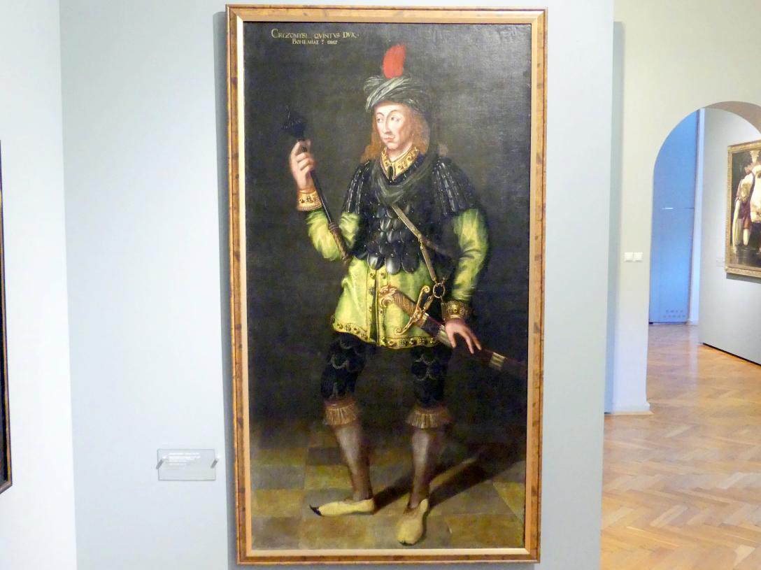 Böhmischer Prinz Cryzomysl, 1580 - 1604