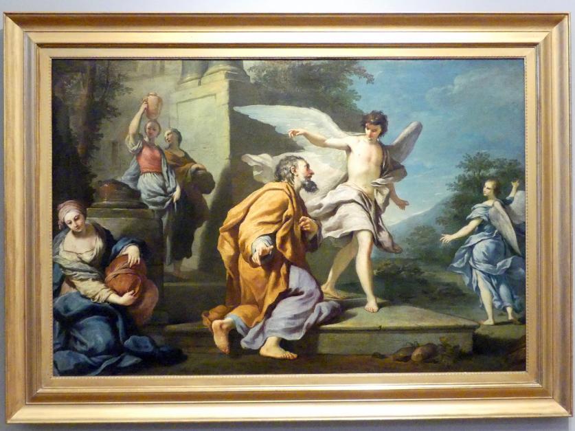 Antonio Gionima: Lot verlässt Sodom, 1720 - 1730