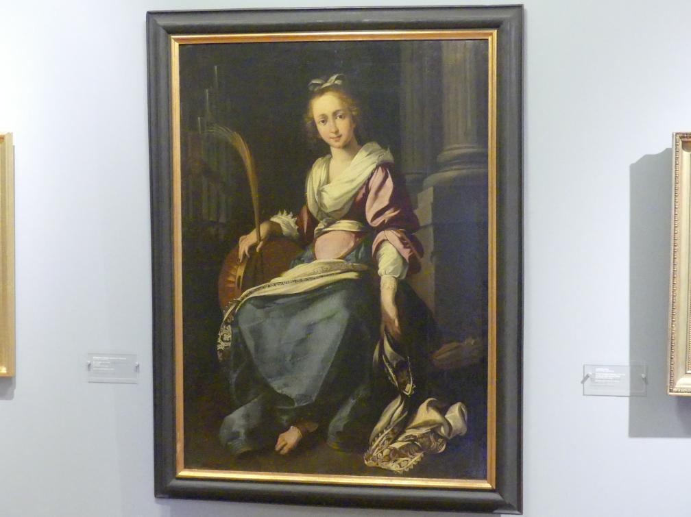 Bernardo Strozzi (Werkstatt): Heilige Cäcilia, 1615 - 1630