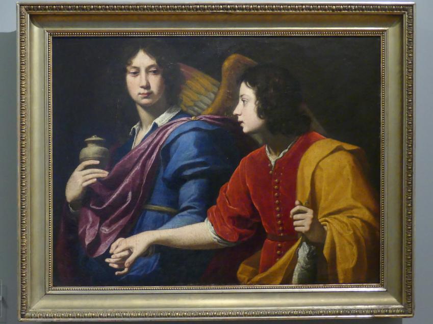 Lorenzo Lippi: Erzengel Raphael und Tobias, 1640 - 1650
