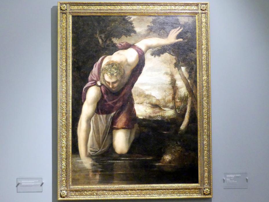 Tintoretto (Jacopo Robusti): Narziss, um 1560