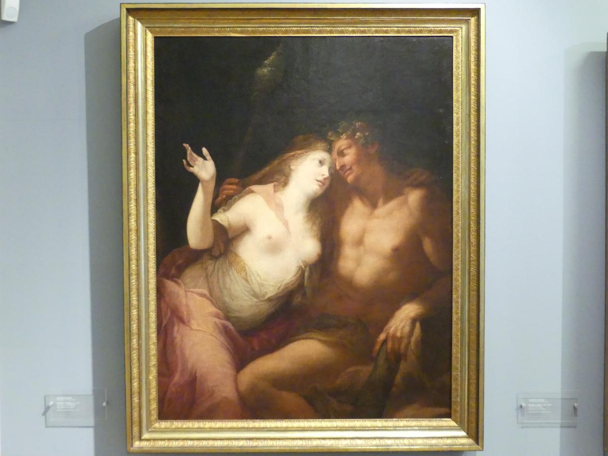 Andrea Celesti: Herkules und Omphale, Um 1700