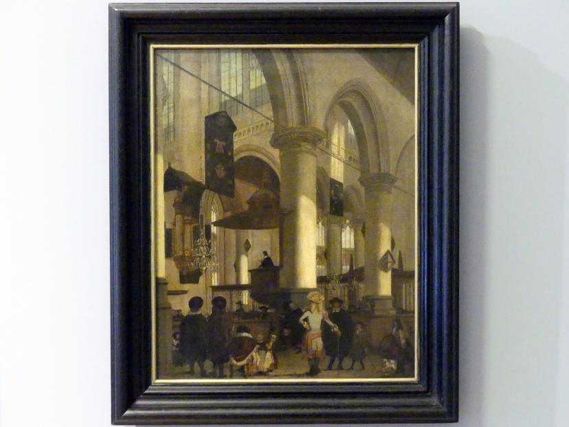 Emanuel de Witte: Motive der Oude Kerk in Delft, um 1680