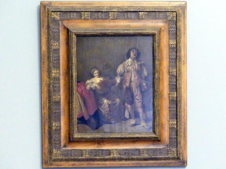 Pieter Quast: Musizierendes Paar, 1630 - 1640