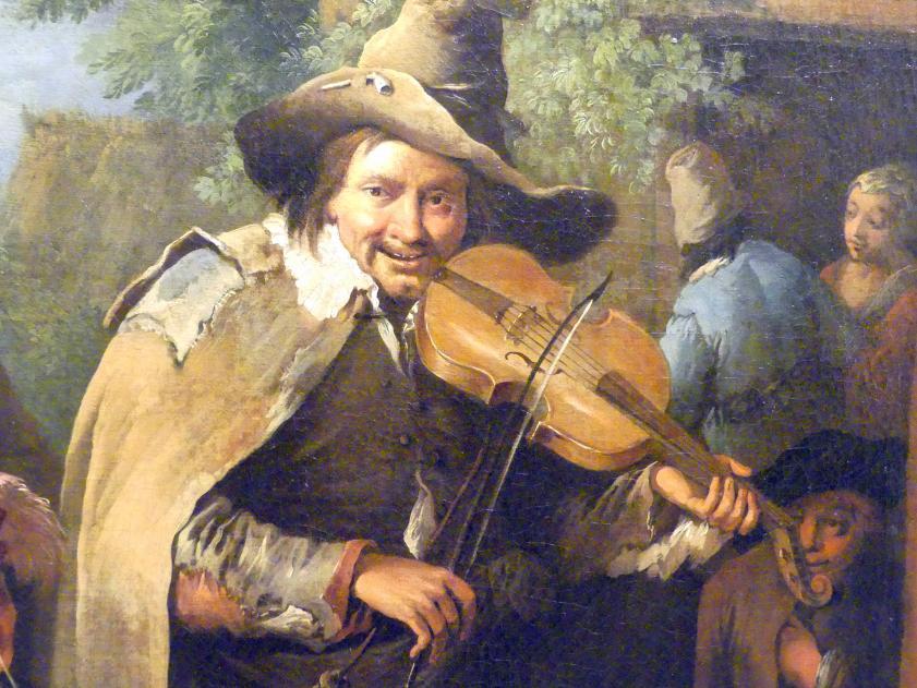Christian Wilhelm Ernst Dietrich: Wandermusiker, um 1745, Bild 2/4