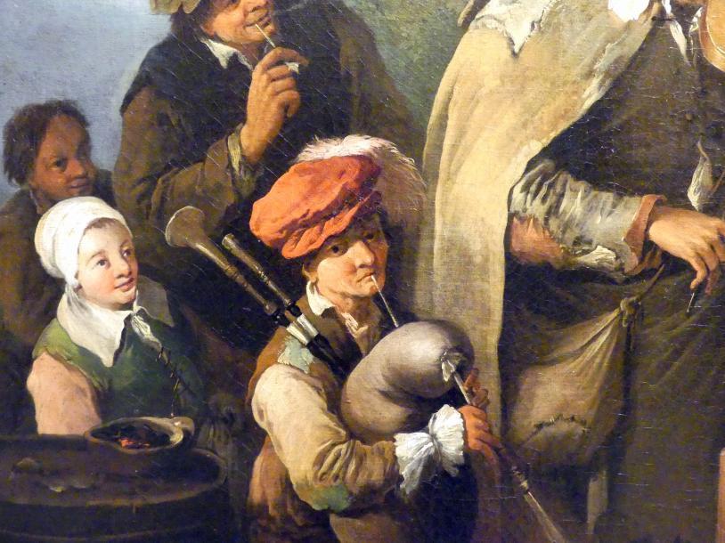 Christian Wilhelm Ernst Dietrich: Wandermusiker, um 1745, Bild 3/4
