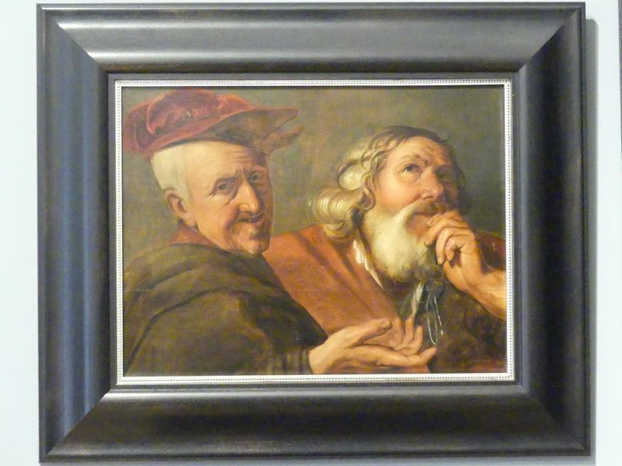 Lambert Jacobszon: Heraklit und Demokrit, 1630 - 1640