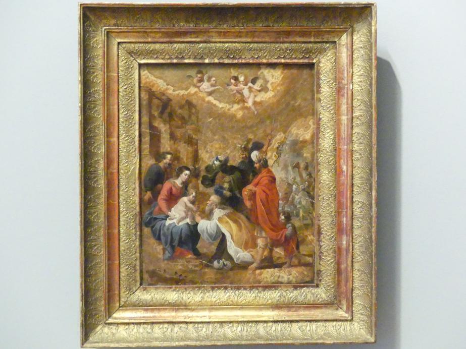 David Teniers der Ältere: Anbetung der Könige, 1625 - 1640