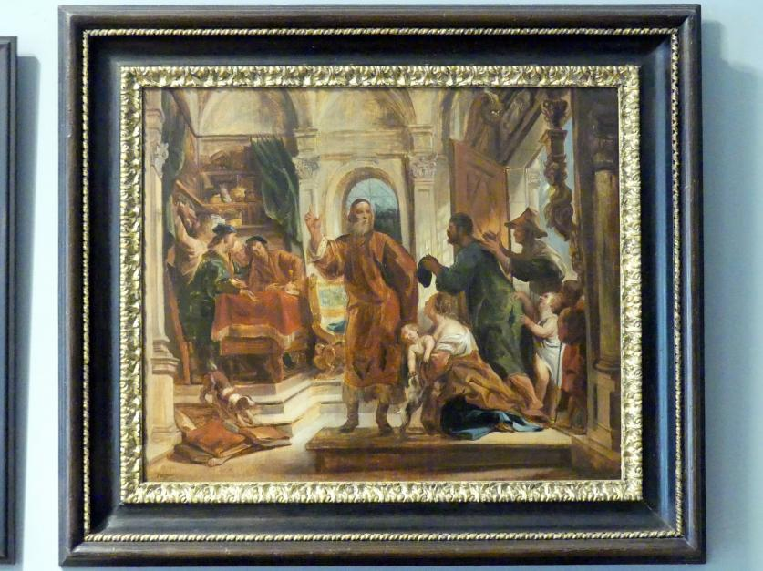 Jacob Jordaens: Heiliger Ivo als Anwalt der Armen, um 1645