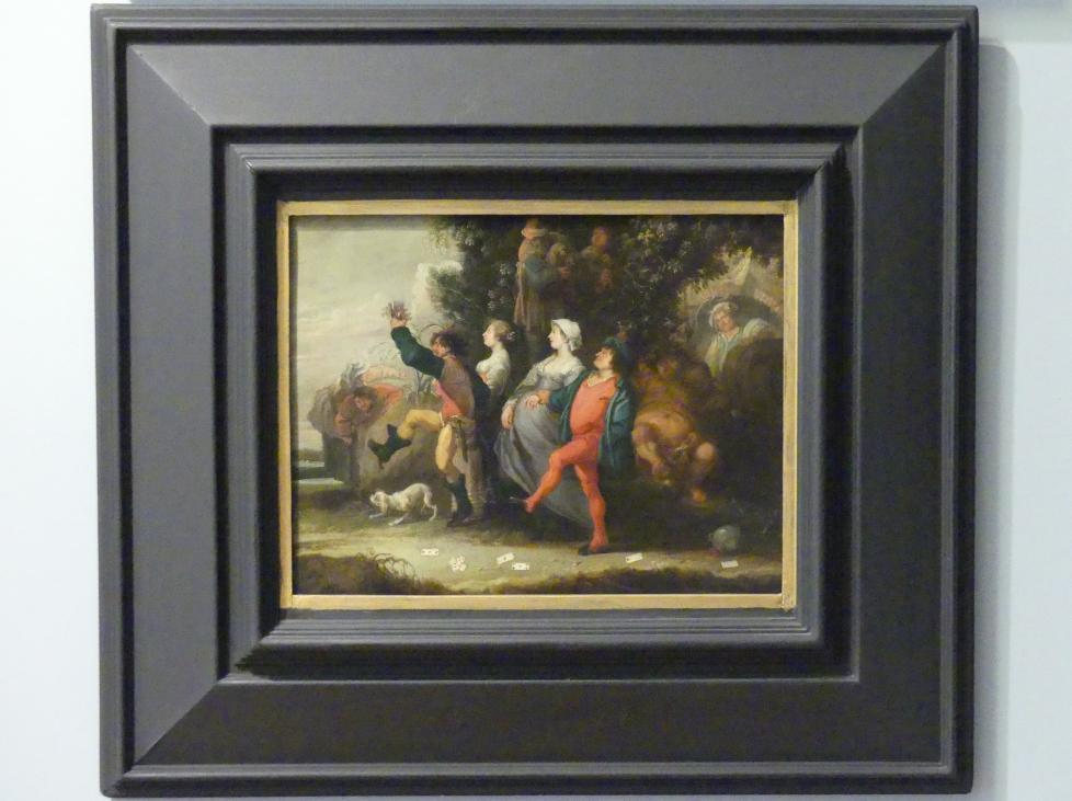Simon de Vos: Dorfumzug, Um 1640