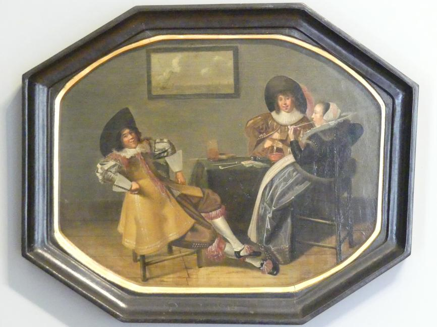 Dirck Hals: Fröhliche Gesellschaft, 3. Viertel 17. Jhd.