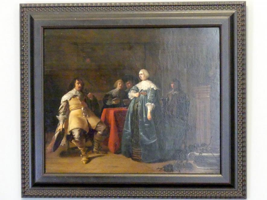 Anthonie Palamedesz.: Elegante Gesellschaft, um 1635