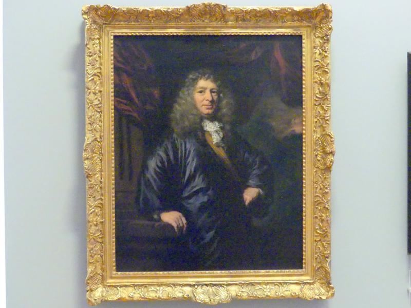 Nicolaes Maes: Porträt eines Amsterdamer Kaufmanns, 1687