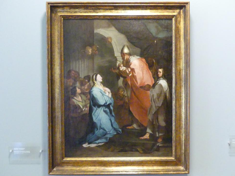 Szymon Czechowicz: Darstellung Christi im Tempel, Undatiert