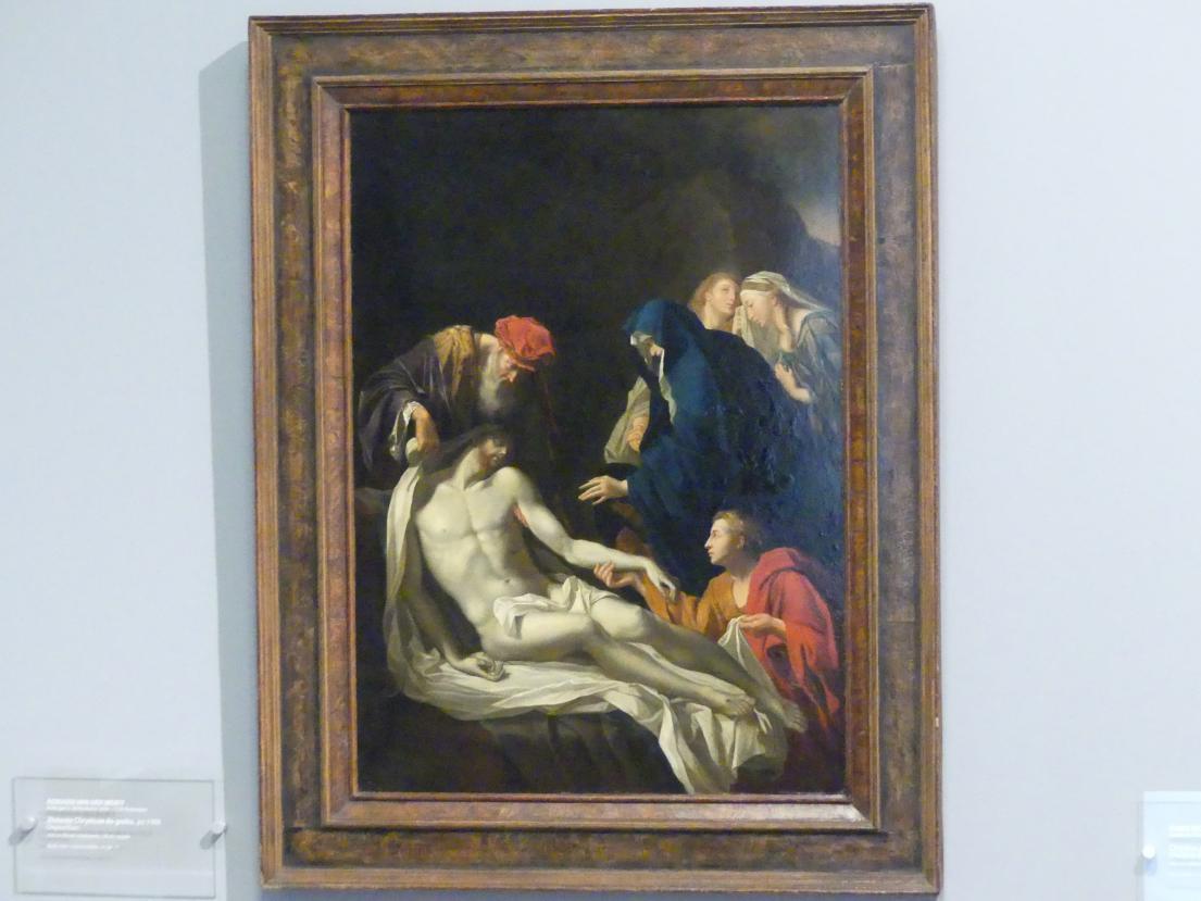 Adriaen van der Werff: Grablegung Christi, nach 1703