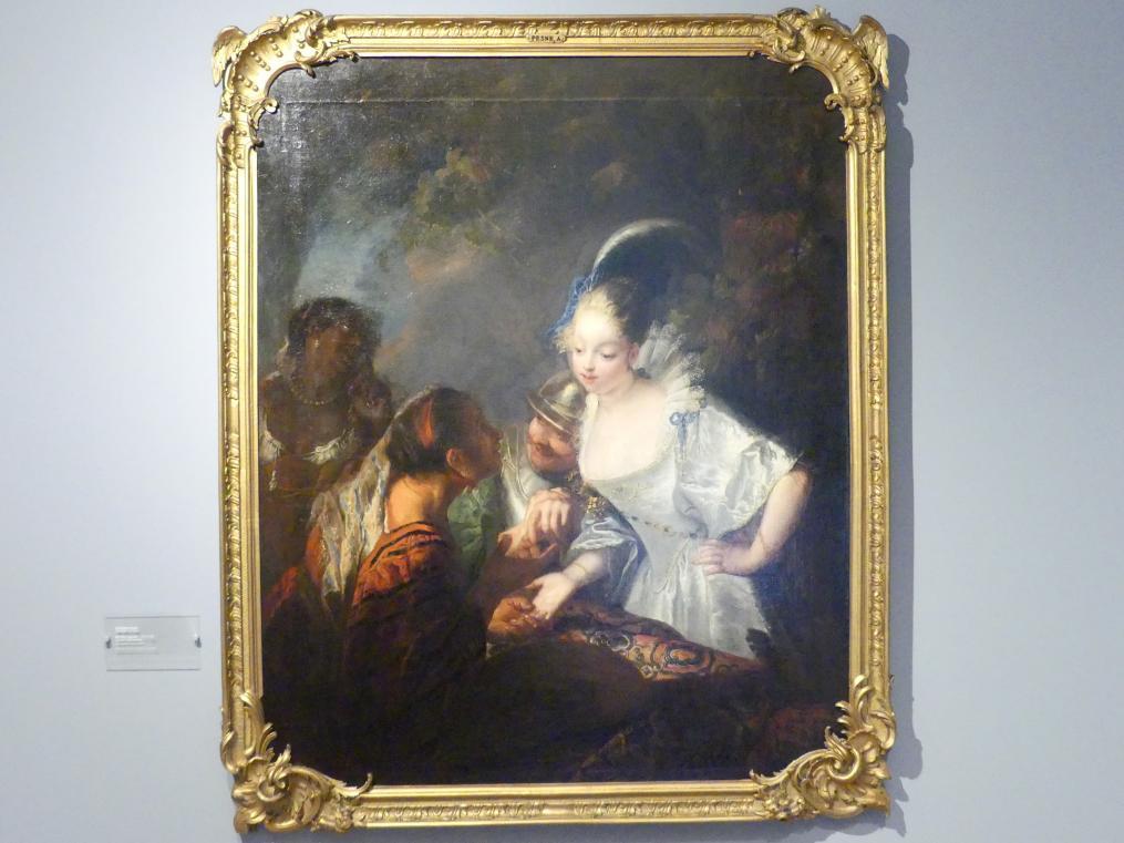 Antoine Pesne: Handleserin, 1710 - 1720