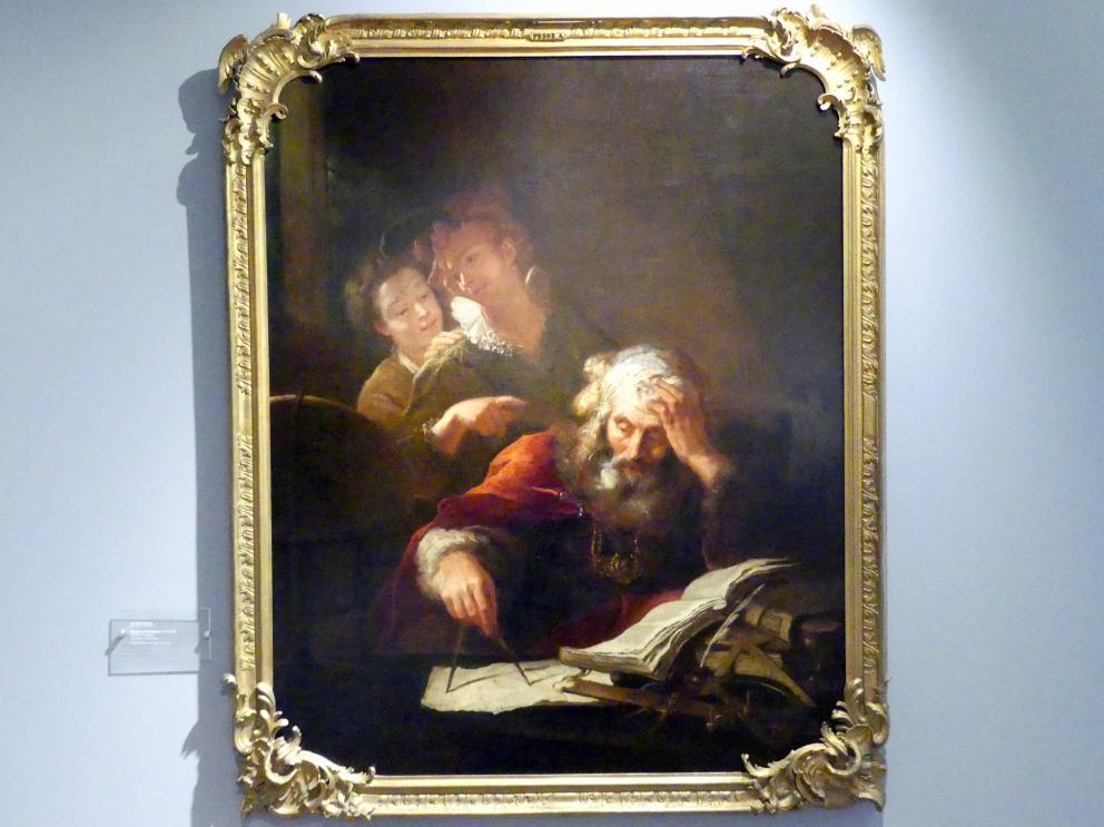 Antoine Pesne: Claudius Ptolemäus, 1710 - 1720