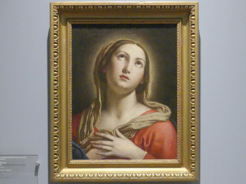 Giovanni Battista Salvi (Sassoferrato): Betende Madonna, Undatiert