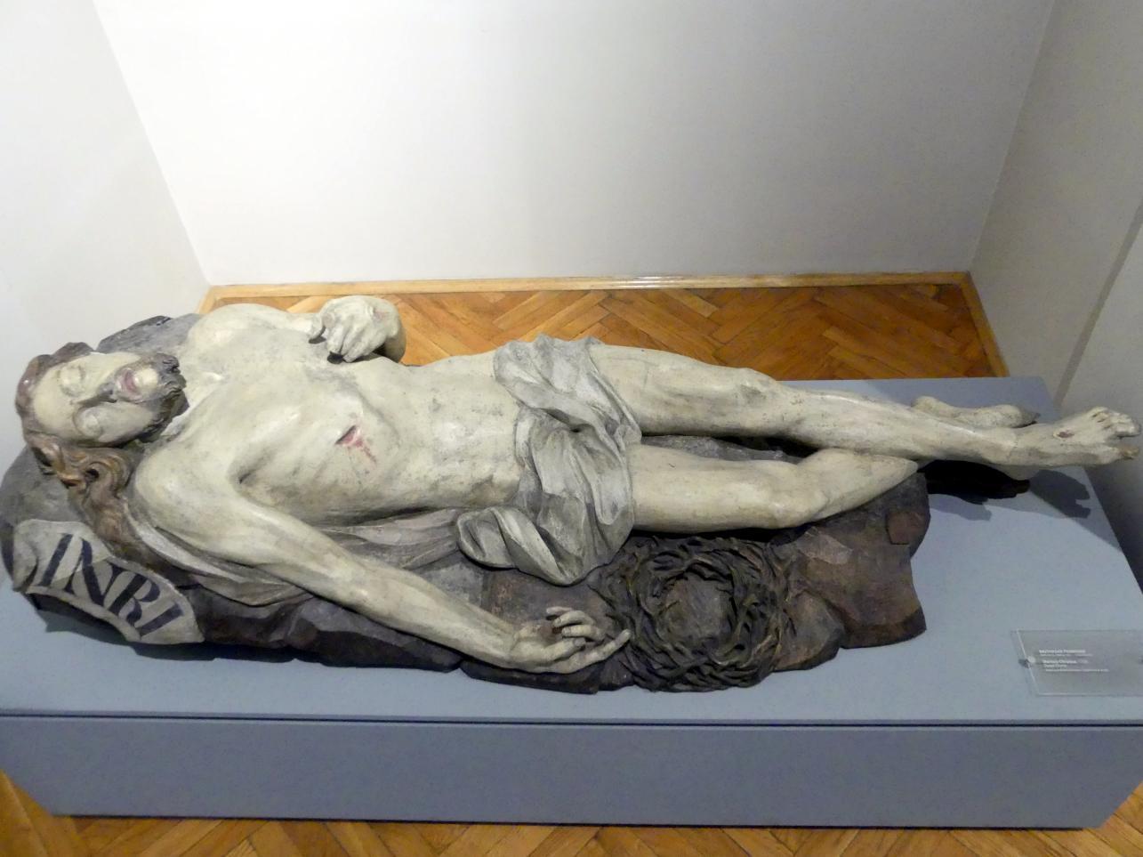 Balthasar Permoser: Christus im Grab, 1. Viertel 18. Jhd.
